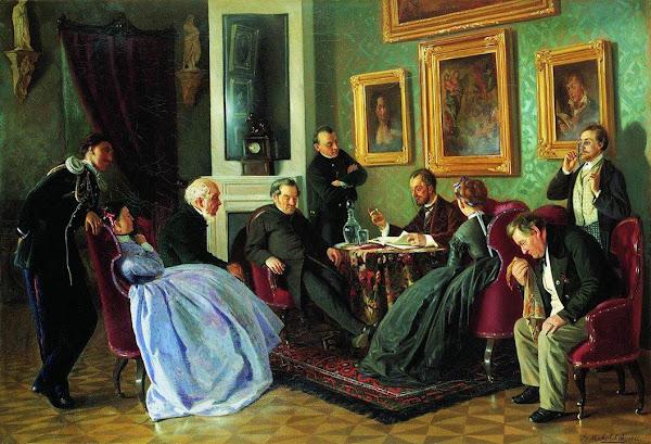 Маковский Владимир Егорович - Литературное чтение. 1866