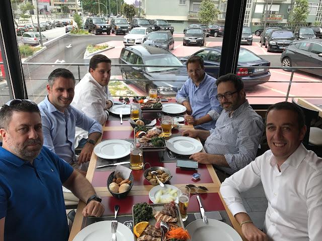 Almoço Range Rover Portugal - Junho 2017