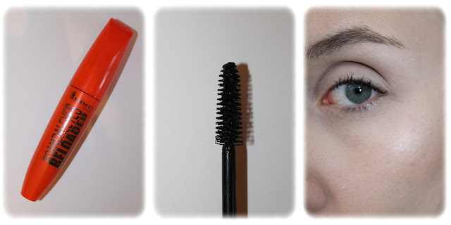 Swatch Mascara ScandalEyes Reloaded Teinte 001 Black - Rimmel