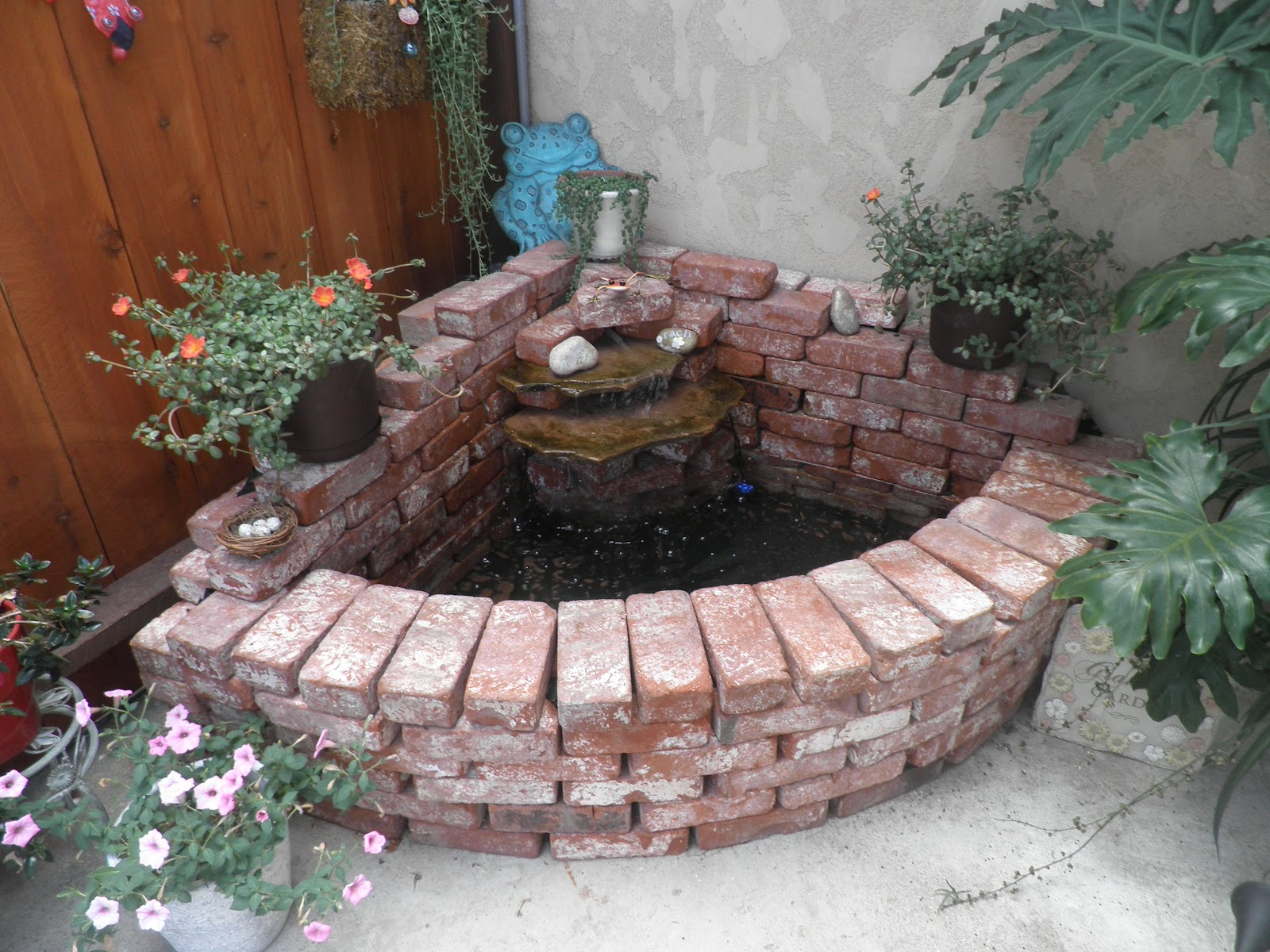 Stringbeadz Designs How To Build Your Own Brick Waterfall