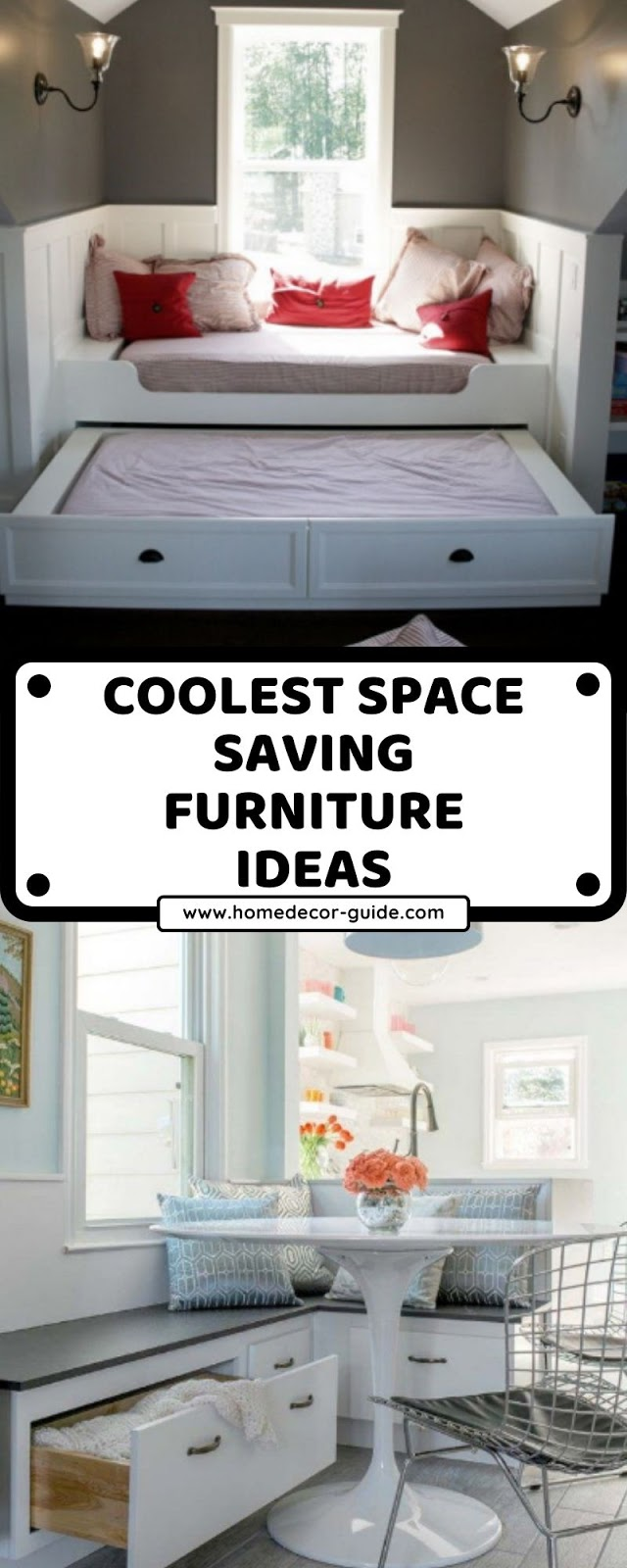 COOLEST SPACE SAVING FURNITURE IDEAS