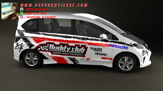 Mobil,Honda,Honda Freed,Cutting Sticker,Cutting Sticker Bekasi,Decal,jakarta,Bekasi,