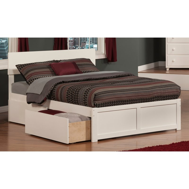 60 incredible queen sized beds with storage drawers - Modern queen bed with storage ...