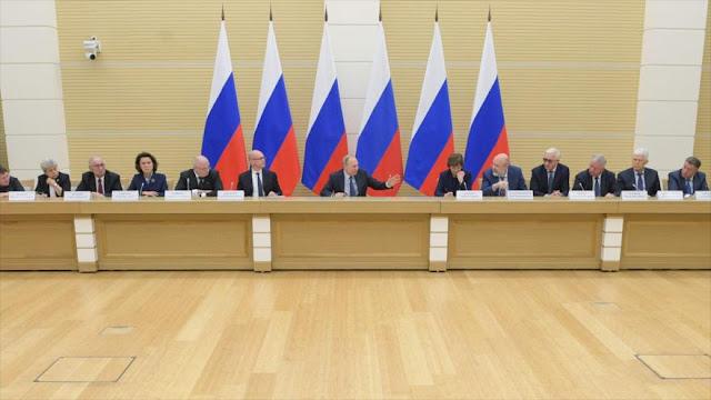 Putin: Rusia debe dar pasos más allá de ser potencia nuclear