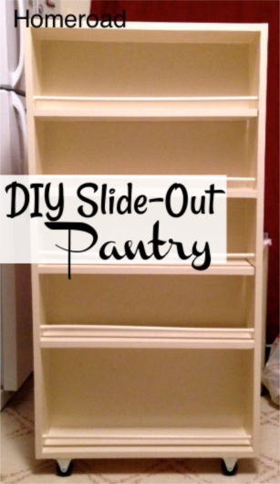 slide out pantry pin for pinterest