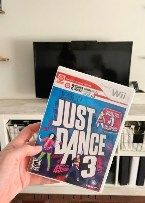 Fun activities while you're at home |  just dance on the wii