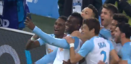 Mario Balotelli posts live goal celebration to Instagram