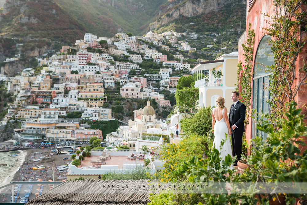 Elopement wedding Positano
