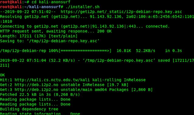 installing anonsurf
