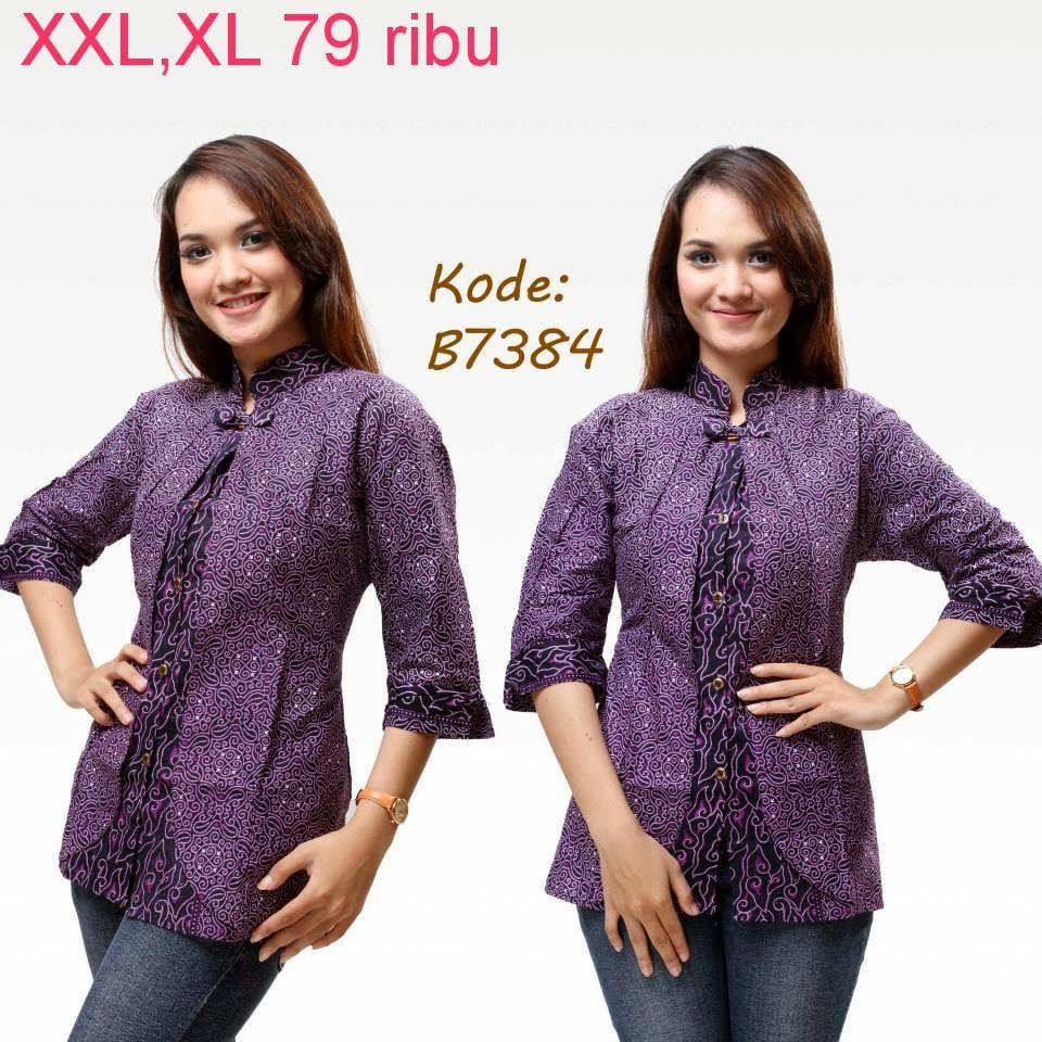 Model Baju Batik Zaskia Mecca: Model Baju Batik Kantor