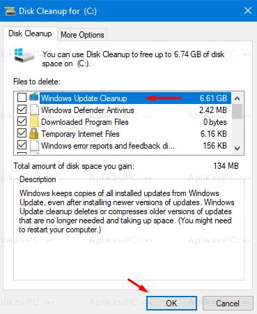 CleanUP System File - Untuk membersihkan hardisk dari file sampah (1)