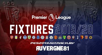 PES 2013 Premier League Kitpack Season 2019/2020