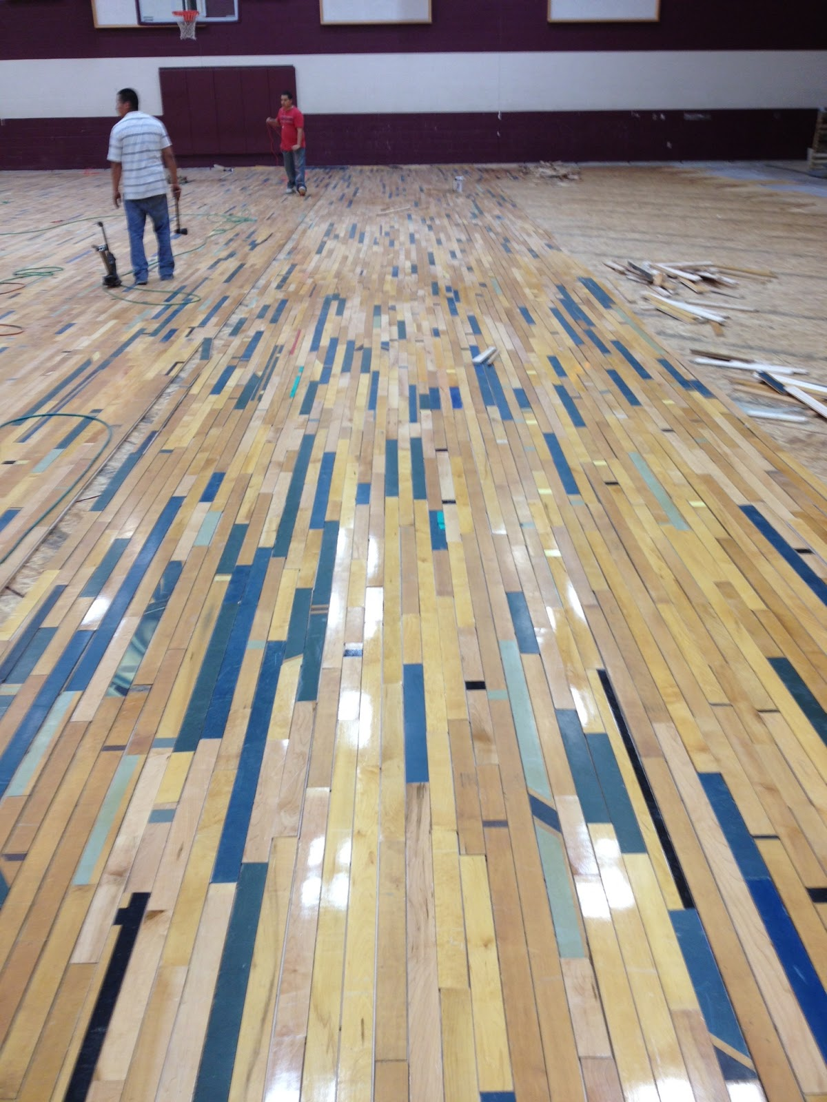Gym Flooring Reclaimed Gym Flooring