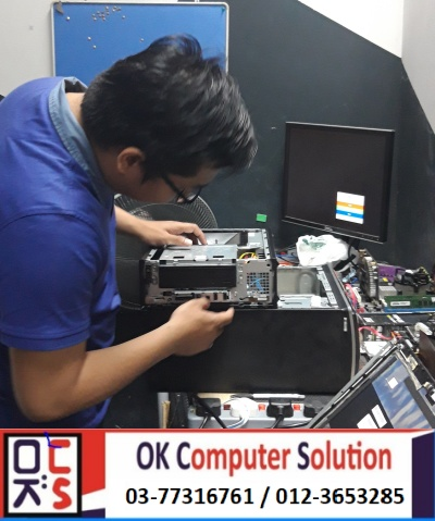 [SOLVED] NO DISPLAY DELL INSPIRON | KEDAI REPAIR LAPTOP DAMANSARA 4