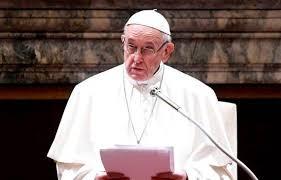 """El papa Francisco. Señaló que """"Dios... no quiere que su nombre sea utilizado para aterrorizar a la gente"""