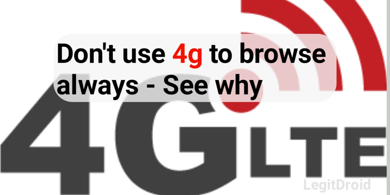 4g browse