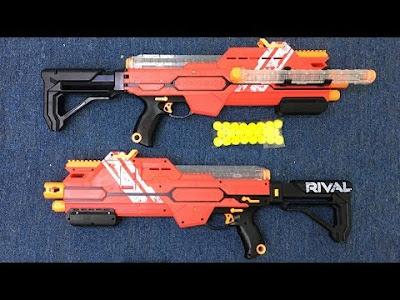 Súng Nerf Rival Hypnos XIX-1200 E2780 Đỏ