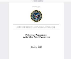 Informe preliminar UAP/OVNI de la Inteligencia de los EE.UU. ¿Un zasca al fenómeno extraterretre?