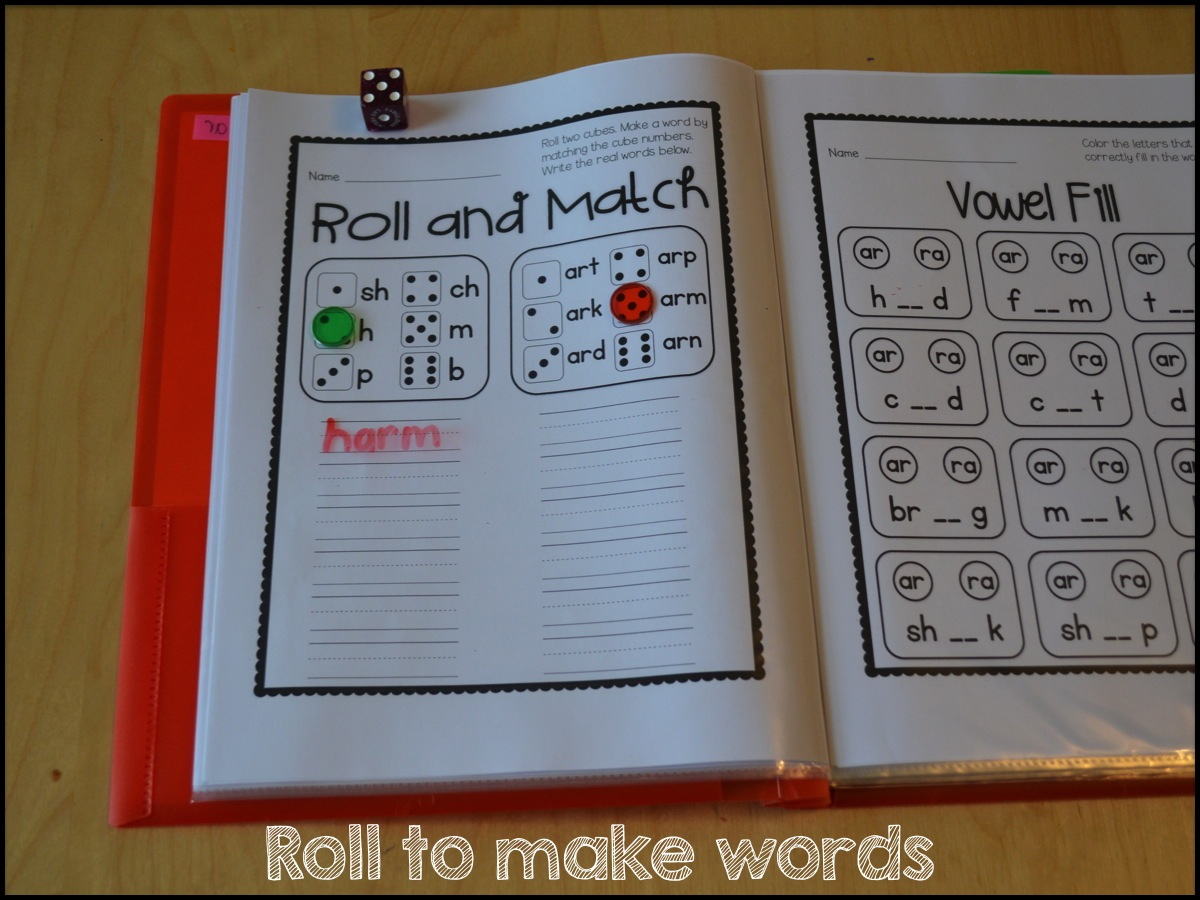 Sarah S First Grade Snippets Printable Rti For All R Controlled Vowels