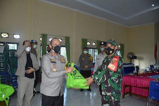 Kapolda Jambi Tinjau PPKM Desa Rambahan Kabupaten Batang Hari