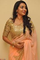 Bhanu Shri looks stunning in Beig Saree choli at Kalamandir Foundation 7th anniversary Celebrations ~  Actress Galleries 020.JPG