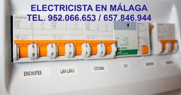 Electricista en Malaga
