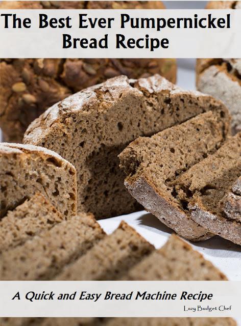 easy pumpernickel bread maker recipe