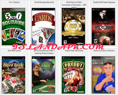 Download Kumpulan Game PSP Iso Cso Board & Card Lengkap