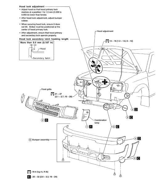 repair-manuals: Nissan Xterra WD22 2001 Repair Manual