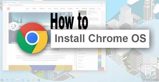 How to install chrome OS in laptop
