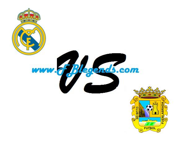 مشاهدة مباراة ريال مدريد وفوينلابرادا بث مباشر في كأس ملك إسبانيا يوم 26-10-2017 مباريات اليوم cf fuenlabrada vs real madrid