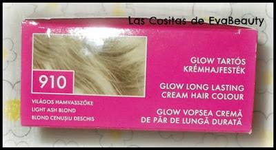 Probando tinte capilar glow de kallos cosmetics en notino