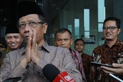 PKB: Mungkin Pak Mahfud masih emosi, nendang ke sana ke mari