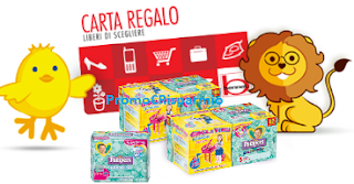 Logo Pampers ti regala Bennet Card : regalo sicuro