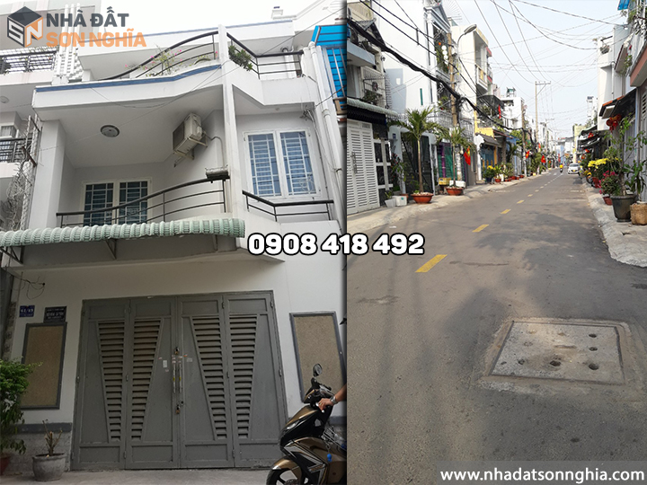 Bán Nhà Gò Vấp hẻm 61 đường số 59 phường 14