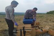 Tim Gegana Musnahkan Bahan Peledak Barang Bukti Kejaksaan Negeri Lebak