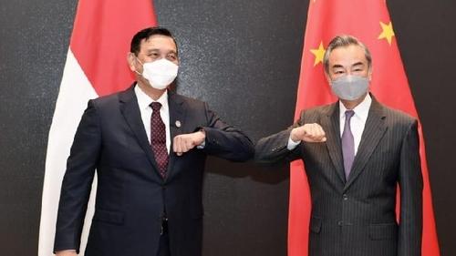 Pulang dari China, Luhut Langsung Karantina, Berikut 5 Kesepakatan dengan Menlu Wang Yi