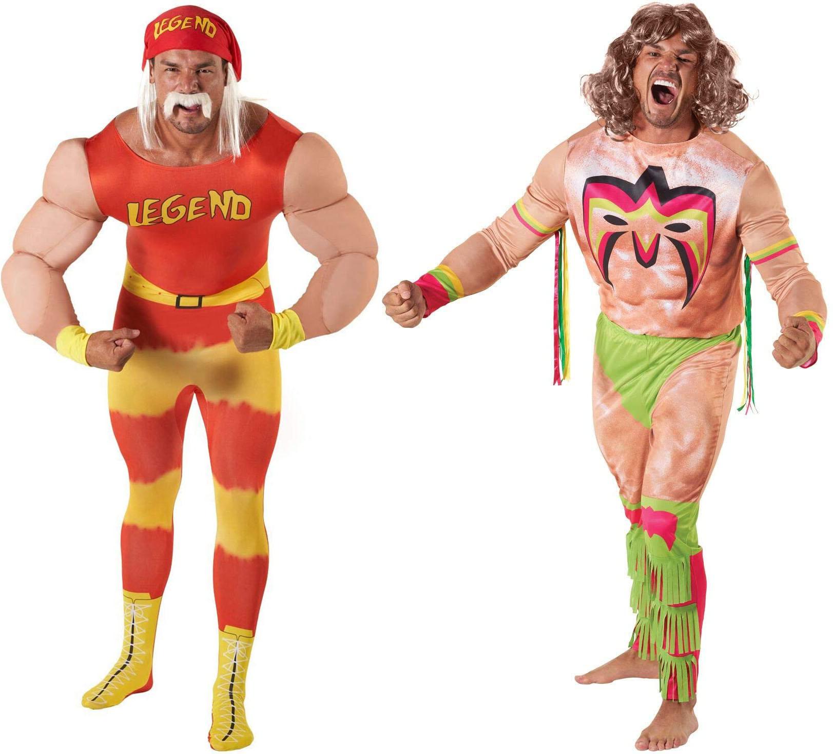 Costume halloween Hulk Hogan Ultimate Warrior
