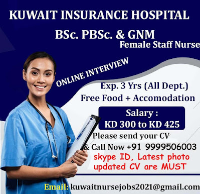 Kuwait Nursing Jobs - world4nurses.com
