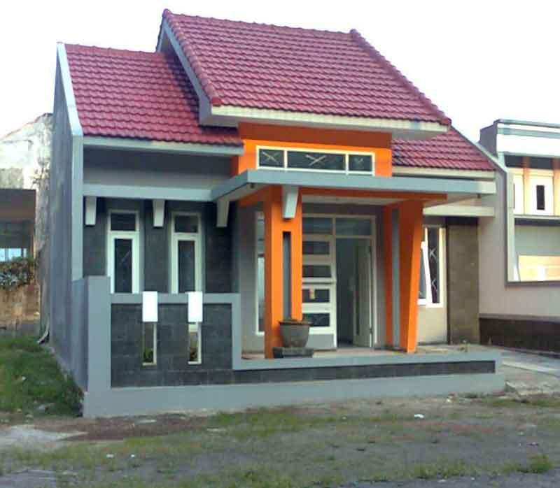 60 Gambar Rumah Minimalis 1 Lantai Tampak Depan dan Warna Cat