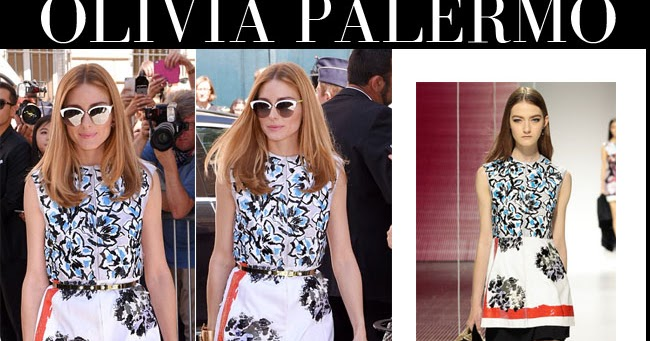 2db97d5f7b73 Olivia Palermo in white floral mini dress at Dior Haute Couture show in  Paris on July 6 ~ I want her style - What celebrities wore and where to buy  it.