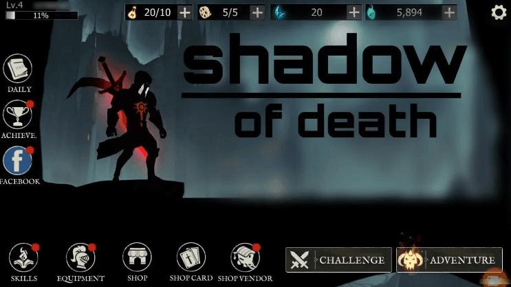 ملخص حول Shadow of Death: Darkness RPG - لعبة تمثيل الأدوار