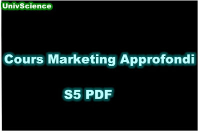 Cours Marketing Approfondi S5 PDF.