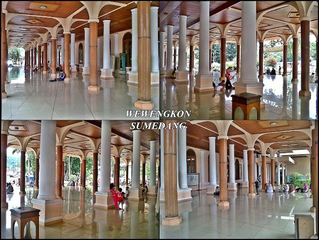 Tiang Penyangga Masjid Agung Sumedang Wewengkon Sumedang