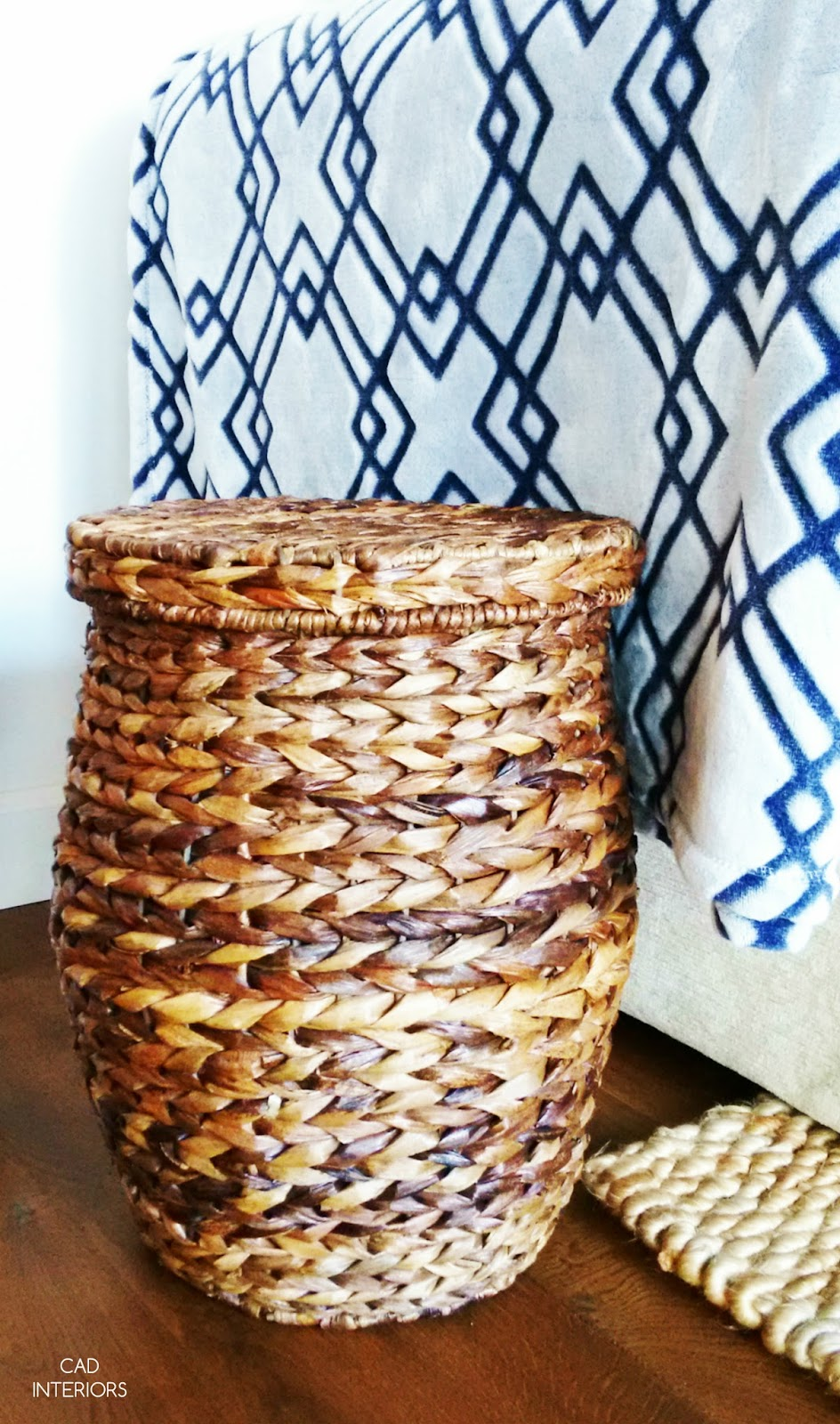 lidded basket texture decorative accessories home decorating interior design tips