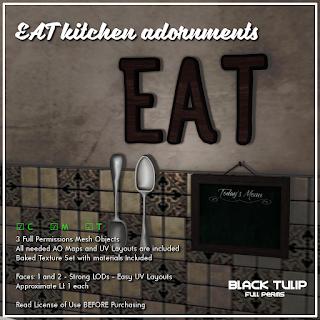 Mesh - EAT Kitchen Adornments
