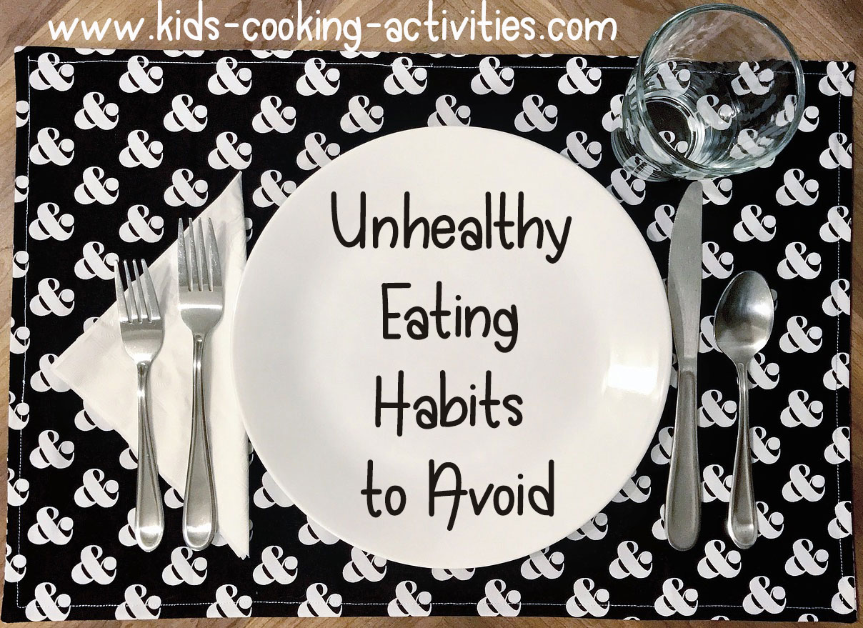 Unhealthy Eating Habits To Avoid