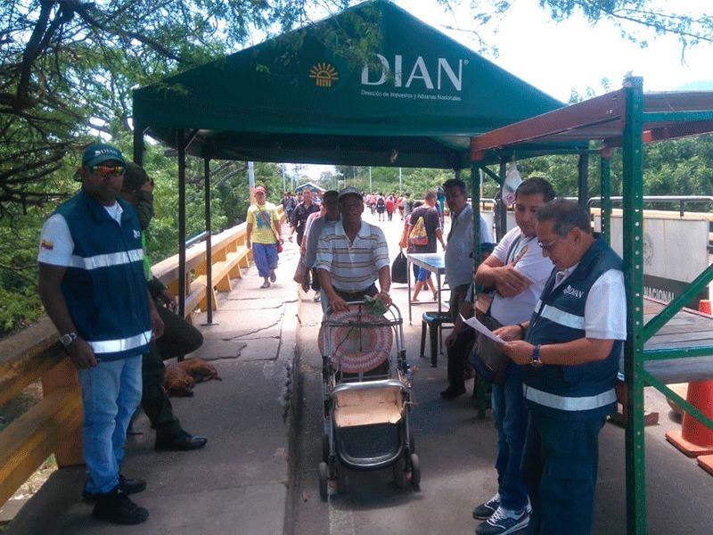 En peligro la vida de los funcionarios de la DIAN por descontrol en la frontera con Venezuela