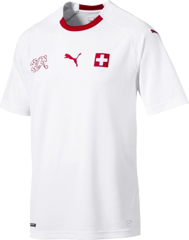 Puma lança a camisa reserva da Suíça para a Copa do Mundo - Show de ... bdd1468d5417d