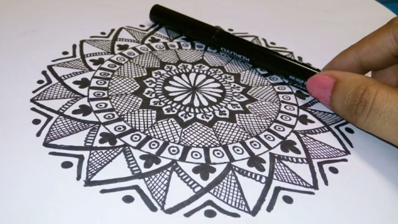 Rangolistan How To Draw Mandala Art For Beginners Simple Easy